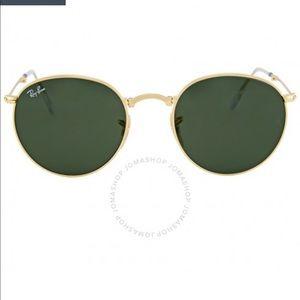 Ray-Ban round folding 50 mm sunglasses